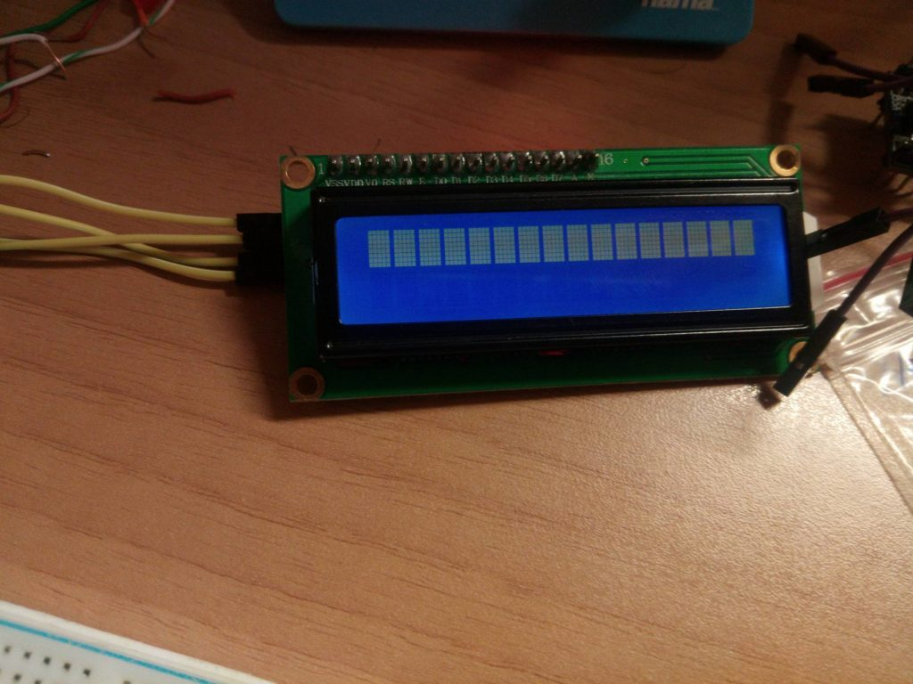 LCD not working